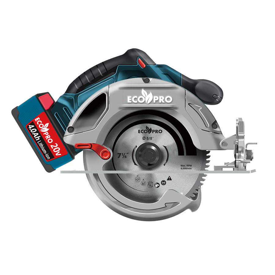 20V Brushless Circular Saw  7-1/4""